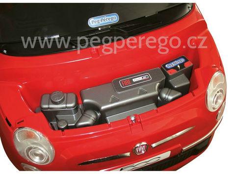Fiat 500 6V červený 3