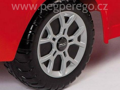 Fiat 500 6V červený 9