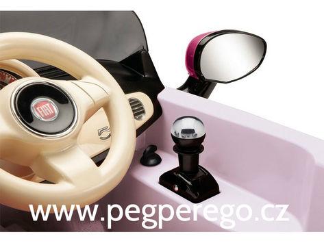 Fiat 500 6V růžový 3