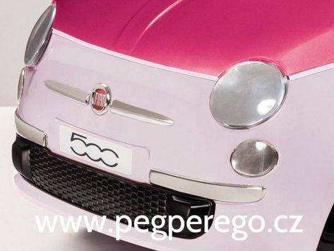 Fiat 500 6V růžový 5