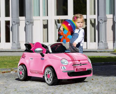 Fiat 500 Star Pink 2