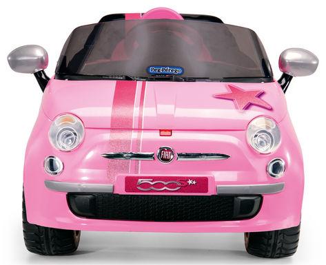 Fiat 500 Star Pink 5
