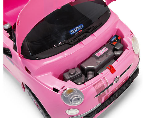 Fiat 500 Star Pink 7