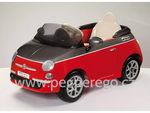 Fiat 500 6V červený
