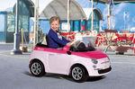 Fiat 500 6V růžový 2