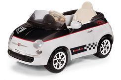 FIAT 500 černo-bílý, 12V