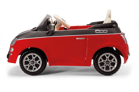 Fiat 500 6V červený 2