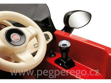 Fiat 500 6V červený 5