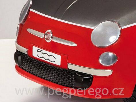 Fiat 500 6V červený 8