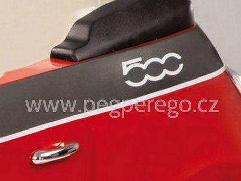 Fiat 500 6V červený 11