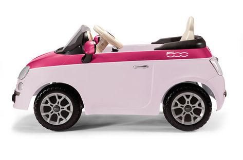 Fiat 500 6V růžový 1