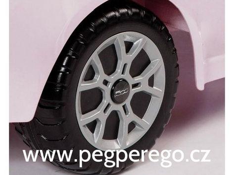Fiat 500 6V růžový 6