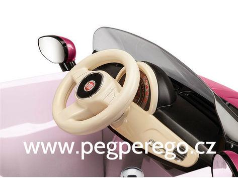 Fiat 500 6V růžový 10