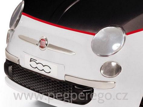 FIAT 500 černo-bílý, 12V 5