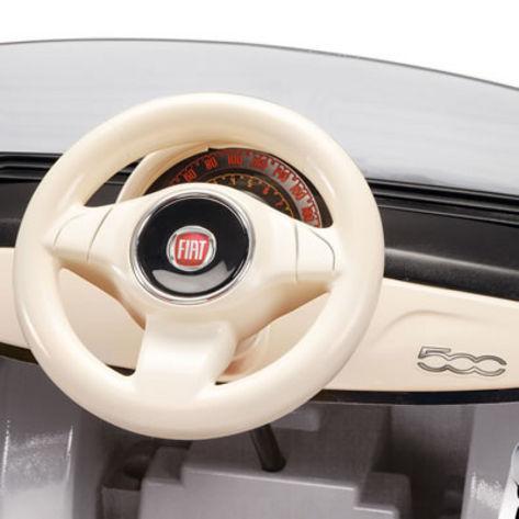 FIAT 500 černo-bílý, 12V 7