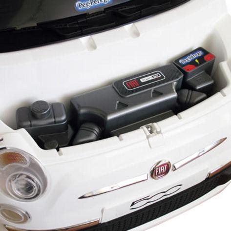 FIAT 500 černo-bílý, 12V 9