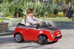 Fiat 500 6V červený 1