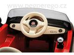 Fiat 500 6V červený 7