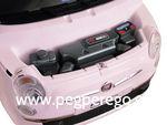 Fiat 500 6V růžový 11